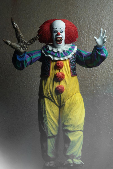 NECA IT Movie (1990) Pennywise Action Figure [Ultimate Version]