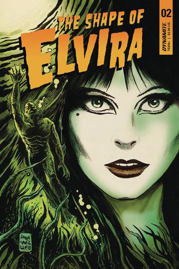 Dynamite Entertainment Elvira Shape of Elvira #2 Comic Book
