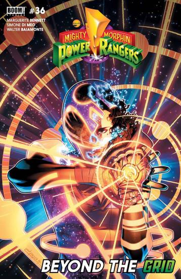 Boom Studios Mighty Morphin Power Rangers #36 Beyond The Grid Comic Book