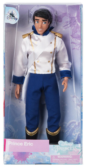 Disney Princess The Little Mermaid Classic Prince Eric Exclusive 12-Inch Doll