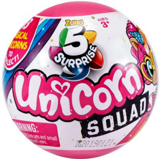 5 Surprise Unicorn Squad Series 1 Mystery Pack