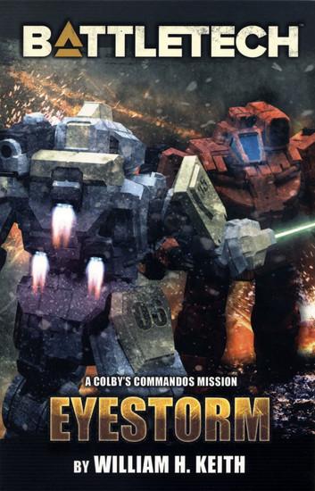 BattleTech Eyestorm Fiction Novella Softcover Book [24-Pages]