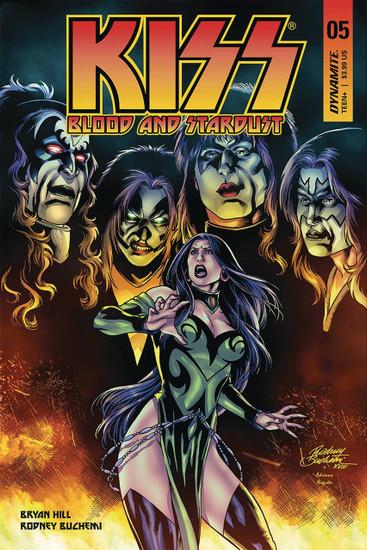 Dynamite Entertainment Kiss Blood Stardust #5 Comic Book [Cover B]