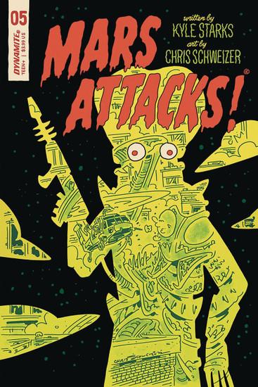 Dynamite Entertainment Mars Attacks #5 Comic Book [Cover E]