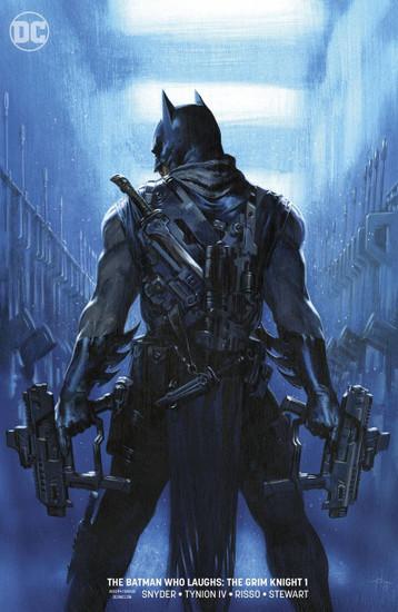 DC The Batman Who Laughs The Grim Knight #1 Comic Book [Dell'Otto Variant Cover]