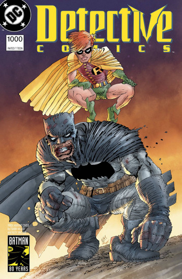 DC Detective Comics #1000 Comic Book [1980's Variant Cover]