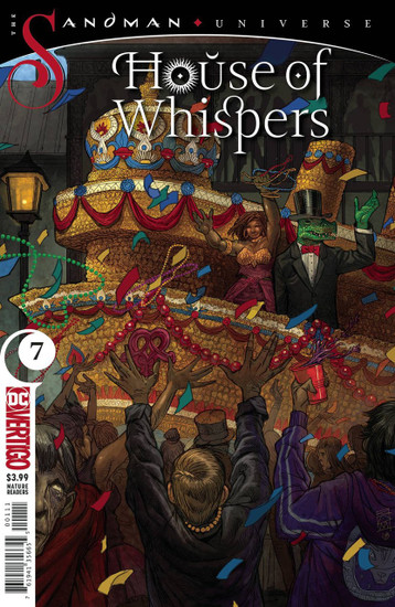 DC House of Whispers #7 The Sandman Universe Comic Book