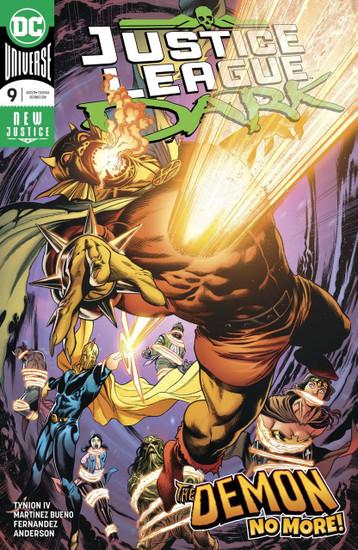 DC Justice League Dark #9 Comic Book