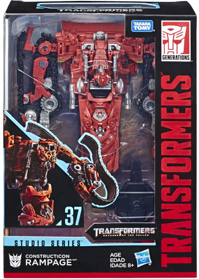 Transformers Generations Studio Series Construction Rampage Voyager Action Figure #37
