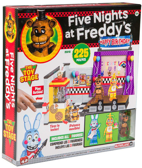 McFarlane Toys Five Nights at Freddy's Toy Stage Build Set