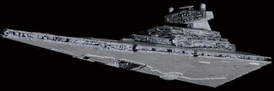 Star Wars Star Destroyer 1/5000 Plastic Model Kit