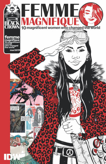 IDW Femme Magnifique 10 Magnificent Women Who Changed the World Comic Book