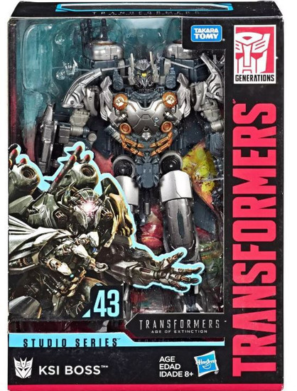 Transformers Generations Studio Series KSI Boss Voyager Action Figure #43