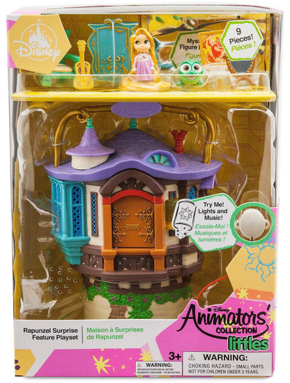 Disney Tangled Littles Animators' Collection Rapunzel Surprise Feature Exclusive Micro Playset [2019]