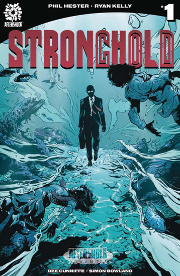 Aftershock Comics Stronghold #1 Comic Book