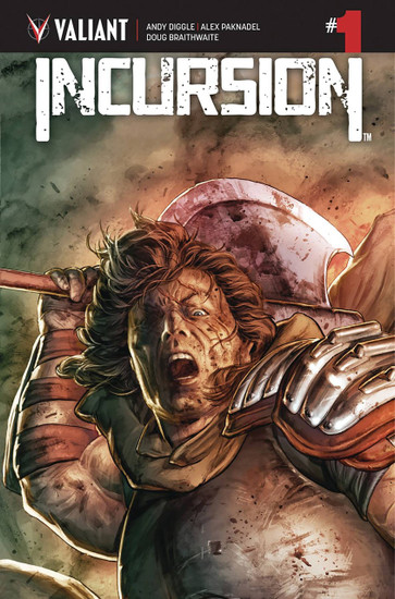 Valiant Comics Incursion #1 Comic Book