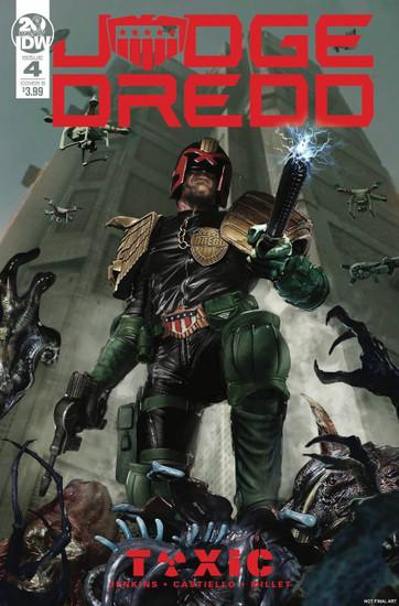 IDW Judge Dredd Toxic #4 Comic Book [John Gallager Cover B Variant]