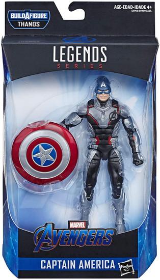 Avengers Endgame Marvel Legends Thanos Series Captain America Action Figure [Endgame]