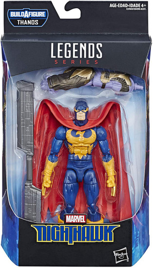 Avengers Endgame Marvel Legends Thanos Series Nighthawk Action Figure