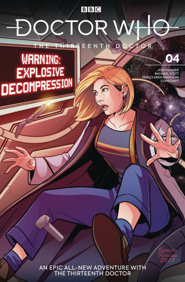 Titan Comics Doctor Who The Thirteenth Doctor #4 Comic Book