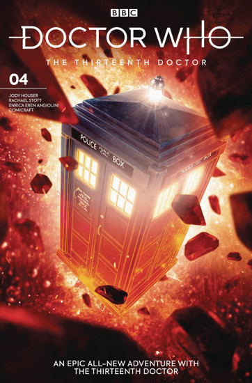 Titan Comics Doctor Who The Thirteenth Doctor #4 Comic Book [Will Brooks Cover B]