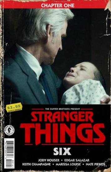 Dark Horse Stranger Things Six #1 Comic Book [Patrick Satterfield Cover D]