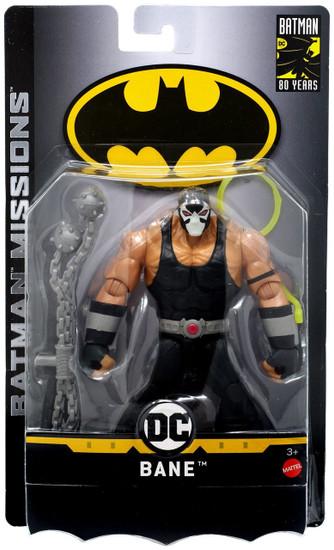 DC Batman Missions Bane Action Figure