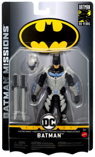 DC Batman Missions Electro Power Batman Action Figure