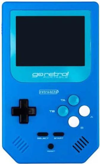 Retro Bit Go Retro! Portable Gaming Device [Blue]
