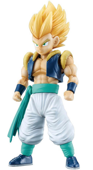 Dragon Ball Z Figure-Rise Standard Super Saiyan Gotenks 7-Inch Model Kit Figure