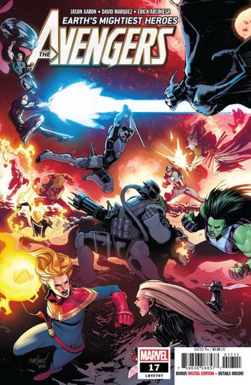Marvel Comics Avengers #17 Comic Book
