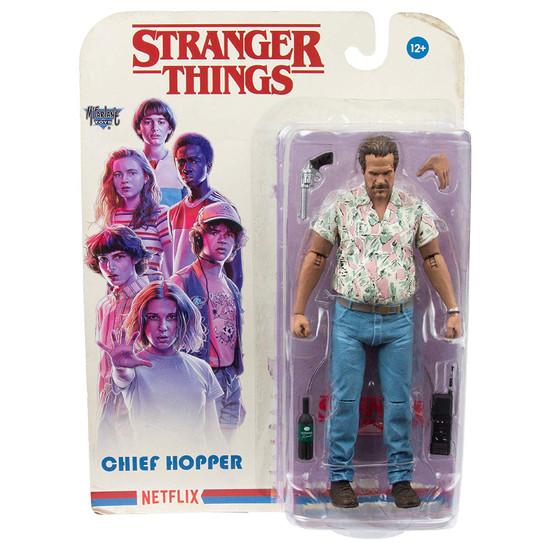 McFarlane Toys Stranger Things Series 4 Chief Hopper Action Figure