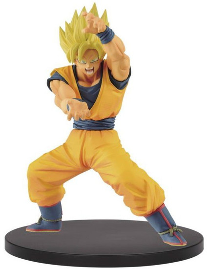 Dragon Ball Z: Buyu Retsuden Chosenshiretsuden Super Saiyan Son Goku 6.3-Inch Collectible PVC Figure