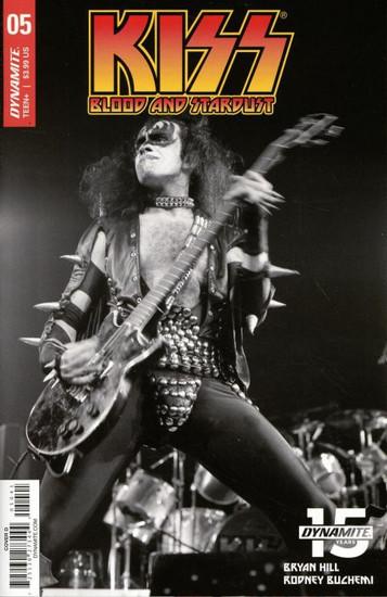 Dynamite Entertainment Kiss Blood Stardust #5 Comic Book [Cover D Photo]