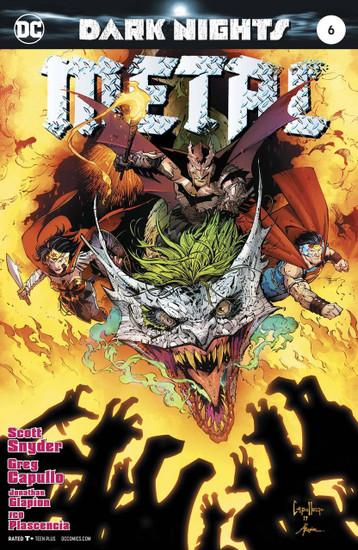 DC Dark Nights Metal #6 Comic Book [Foil Stamped Cover]