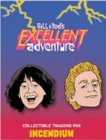 Bill & Ted's Excellent Adventure Bill & Ted 2-Inch Set of 2 Lapel Pins