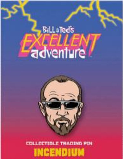 Bill & Ted's Excellent Adventure Rufus 2-Inch Lapel Pin