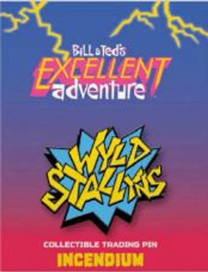 Bill & Ted's Excellent Adventure Wyld Stallyns Logo 2-Inch Lapel Pin