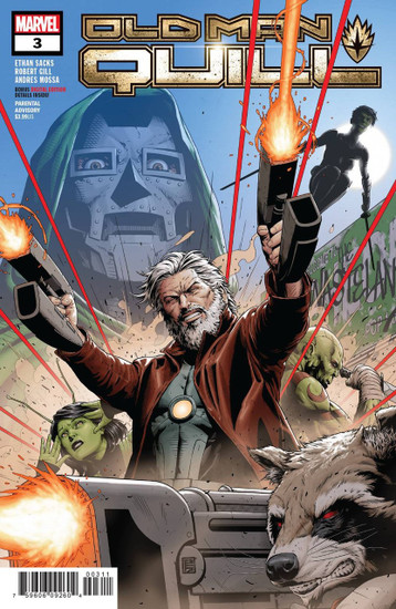 Marvel Comics Old Man Quill #3 Comic Book