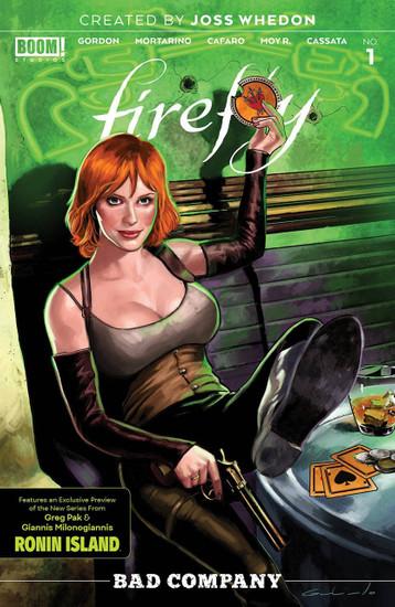 Boom Studios Firefly Bad Company #1 Comic Book