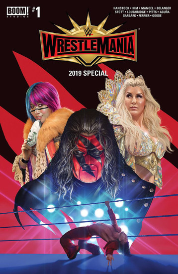 Boom Studios WWE Wrestlemania 2019 Special #1 Comic Book