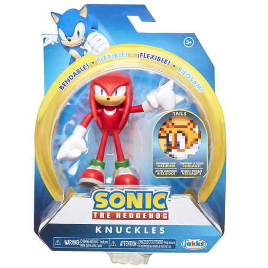 Sonic The Hedgehog 2020 Series 1 Knuckles Action Figure