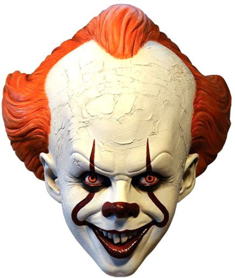 IT Movie (2017) Pennywise Costume Prop Mask [Standard Edition]