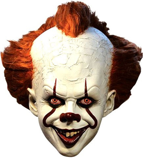 IT Movie (2017) Pennywise Costume Prop Mask [Deluxe Edition]