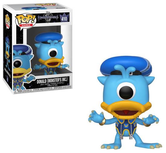 Funko Disney Kingdom Hearts III POP! Games Donald (Monsters Inc.) Vinyl Figure #410 [Damaged Package]