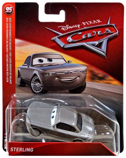 Disney / Pixar Cars Cars 3 Rust-eze Racing Sterling Diecast Car [Damaged Package]