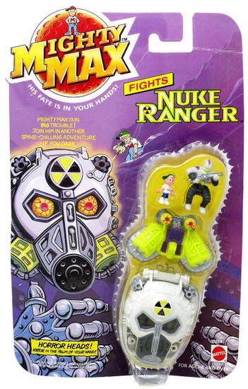 Mighty Max Horror Heads Nuke Ranger Mini Playset