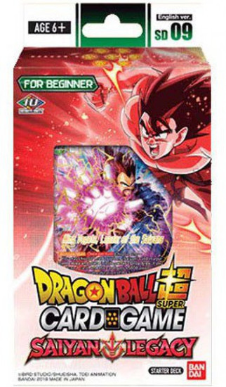 Dragon Ball Super Collectible Card Game SD 09 Starter Deck