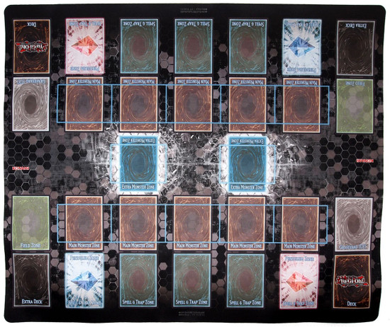 YuGiOh Trading Card Game Card Supplies Link Zone Playmat