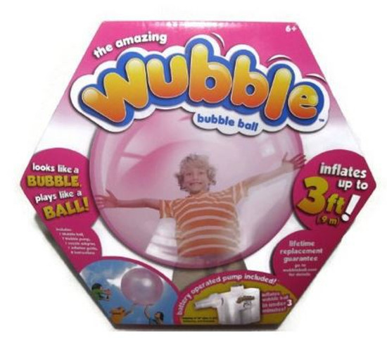 Wubble Ball With Pump [Pink, Damaged Package]